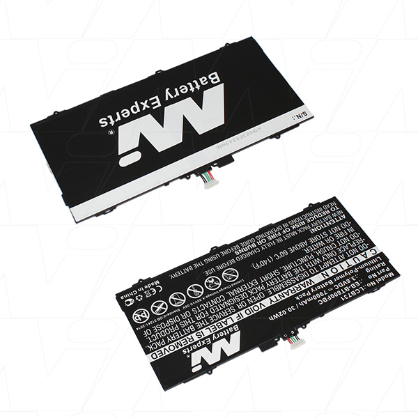 Mi Battery 3.8v 30.02wh / 7900mah Lipo Laptop Battery Suit. For Samsung (LCB731)