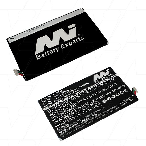 Mi Battery 3.8v 18.62wh / 4900mah Lipo Laptop Battery Suit. For Samsung (LCB732)
