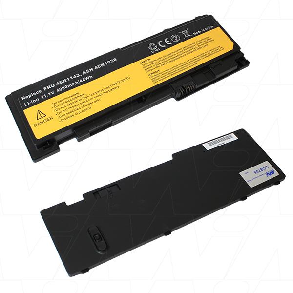 Mi Battery 11.1v 44wh / 4000mah Liion Laptop Battery Suit. For Lenovo (LCB735)