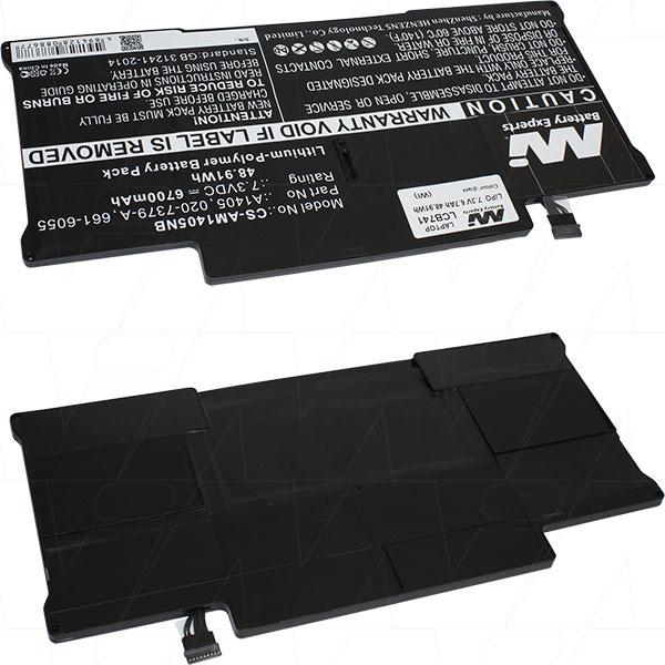 Mi Battery 7.3v 48.91wh / 6700mah Lipo Laptop Battery Suit. For Apple (LCB741)
