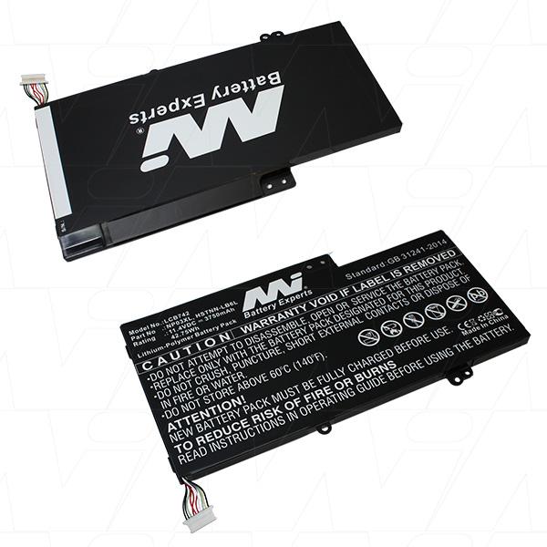 Mi Battery 11.4v 42.75wh / 3750mah Lipo Laptop Battery Suit. For Hp (LCB742)