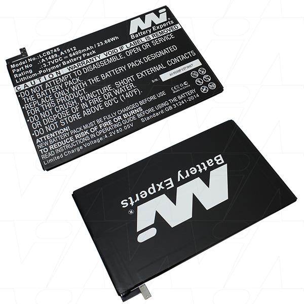 Mi Battery 3.7v 23.68wh / 6400mah Lipo Laptop Battery Suit. For Apple (LCB745)