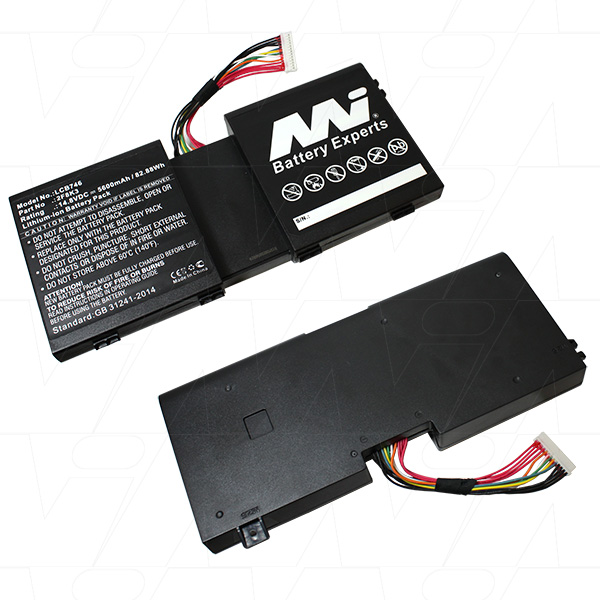 Mi Battery 14.8v 82.88wh / 5600mah Liion Laptop Battery Suit. For Dell (LCB746)