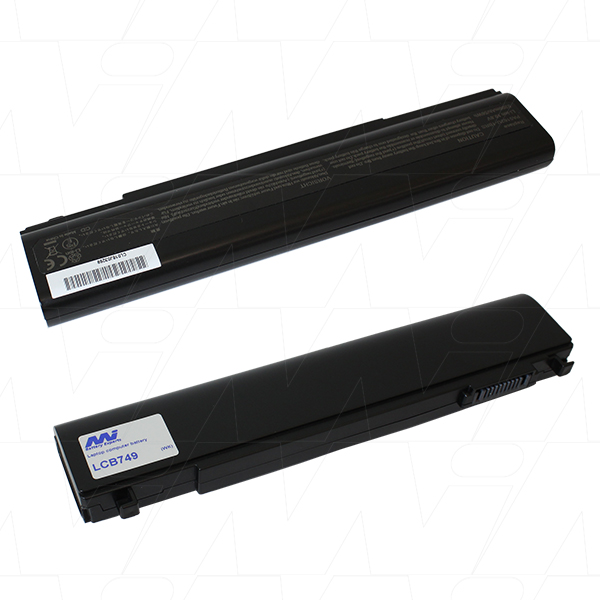 Mi Battery 10.8v 56wh / 5200mah Liion Laptop Battery Suit. For Toshiba (LCB749)
