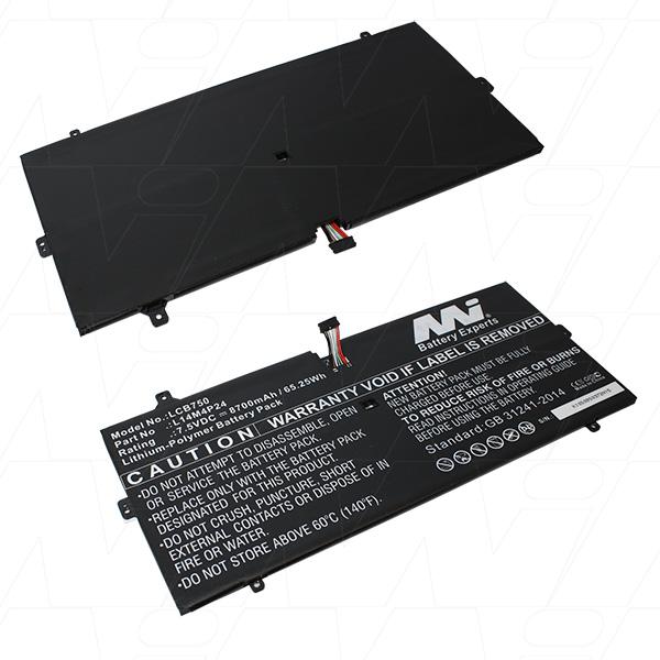 Mi Battery 7.5v 65.25wh / 8700mah Lipo Laptop Battery Suit. For Lenovo (LCB750)