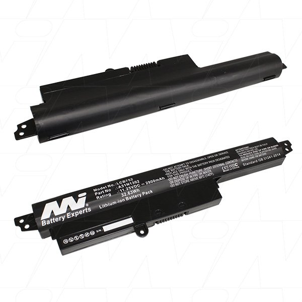 Mi Battery 11.25v 32.63wh / 2900mah Liion Laptop Battery Suit. For Asus (LCB752)