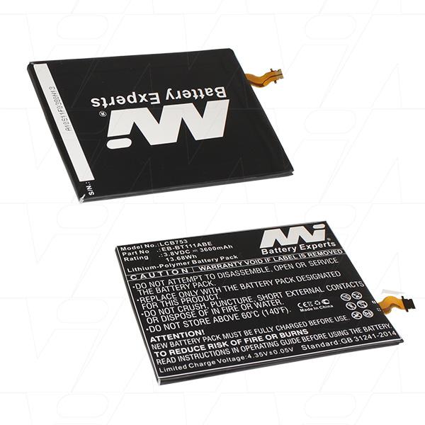Mi Battery 3.8v 13.68wh / 3600mah Lipo Laptop Battery Suit. For Samsung (LCB753)