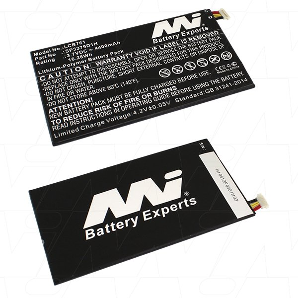 Mi Battery 3.7v 16.28wh / 4400mah Lipo Laptop Battery Suit. For Samsung (LCB761)