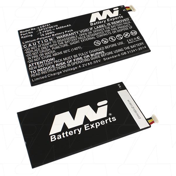 Mi Battery 3.7v 16.28wh / 4400mah Lipo Laptop Battery Suit. For Samsung (LCB761)