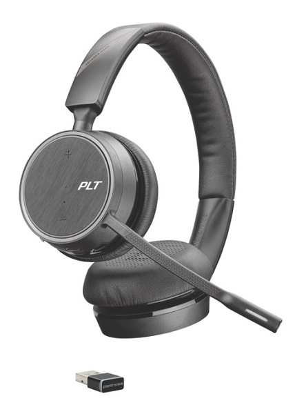 Poly Plantronics Voyager 4220 Uc Oth Stereo Usb-a Bluetooth Headset -  (211996-101)