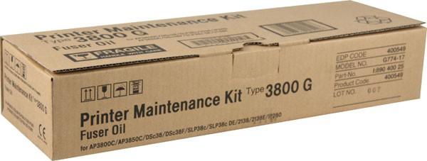 RICOH Maintenance Kit G (fuser Oil) 20000 Page 400549