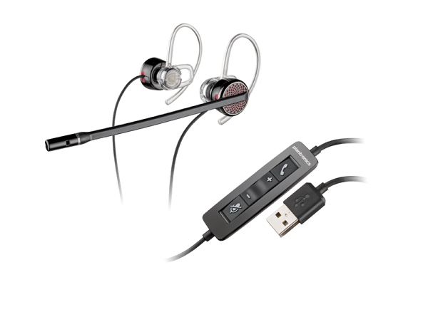 Poly Plantronics Blackwire C435 Uc Stereo Ear-bud Usb-a Corded Headset (85800-01)