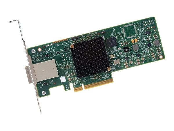 Intel Jbod Hba Pcie Aic 12g Sas/sata 8x External Ports (noraid) Sf8644 (RS3GC008)