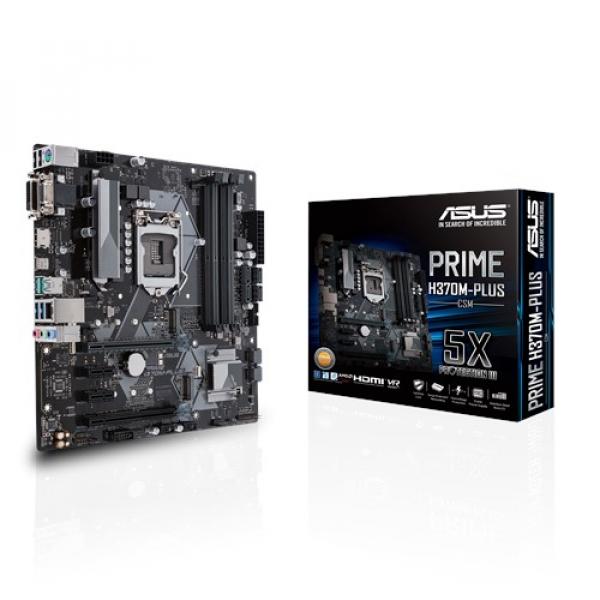 Asus Prime-H370M-Plus-CSM Matx Motherboard (PRIME H370M-PLUS/CSM)
