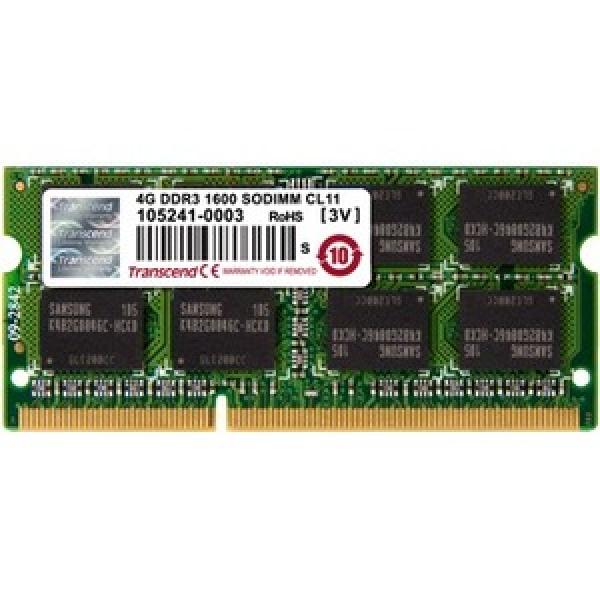 Transcend 8G Single  DDR3 1600 Desktop Drives (TS8GJMA384H)