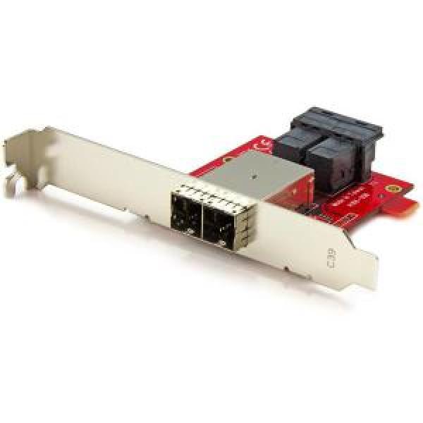 Startech Mini-sas Adapter - Dual Sff-8643 To 8644 (SFF86448PLT2)