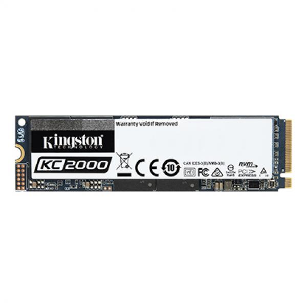 Kingston New 250GB KC2000 Nvme Pcie SSD (SKC2000M8/500G)