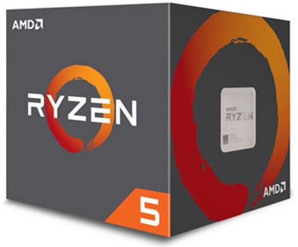 Amd Ryzen 5 2600, 6 Cores Am4 Cpu, 3.9ghz 19mb 65w W/wraith Stealth C (YD2600BBAFBOX)