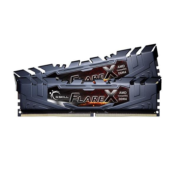 G.skill Ddr4-2400 16gb Dual Channel Flare X F4-2400c15d-16gfx GS-F4-2400C15D-16GFX