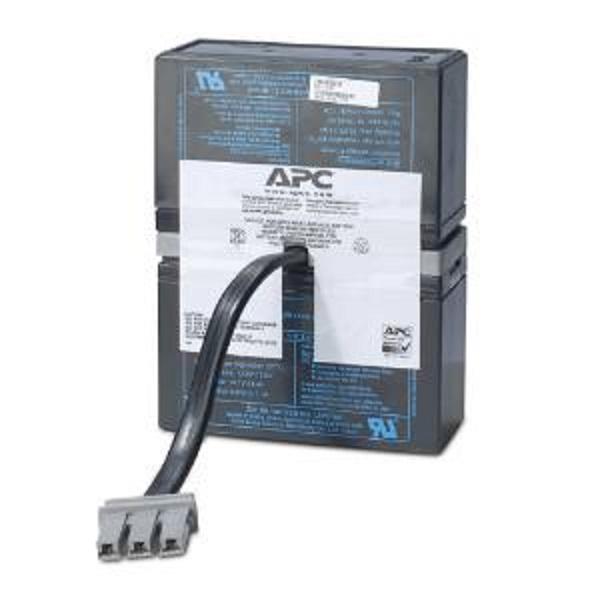 Apc - Schneider Prem Repl Batt Cart 1yr Warranty No.33 RBC33