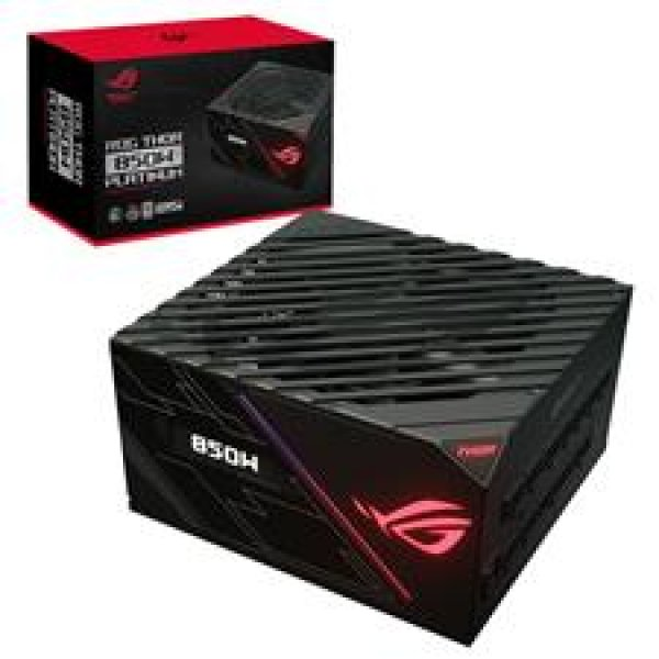 Asus 850w Platinum Power Supply Unit stands out with Aura Sync and an OLED display Psu (ROG-THOR-850P)