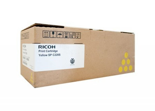 RICOH Yellow Toner 2k Pages 406062