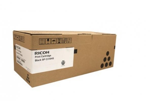 RICOH Black Toner 6500 Page Yield For Spc242 & 406483