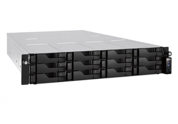 Asustor 12-bay 2u Rack Mount Nas Redundant Power Supply Intel I3-4330 3.5 AS7012RD