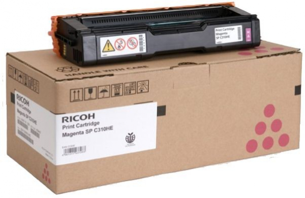 RICOH Magenta Toner 6000 Page Yield For Spc242 406485