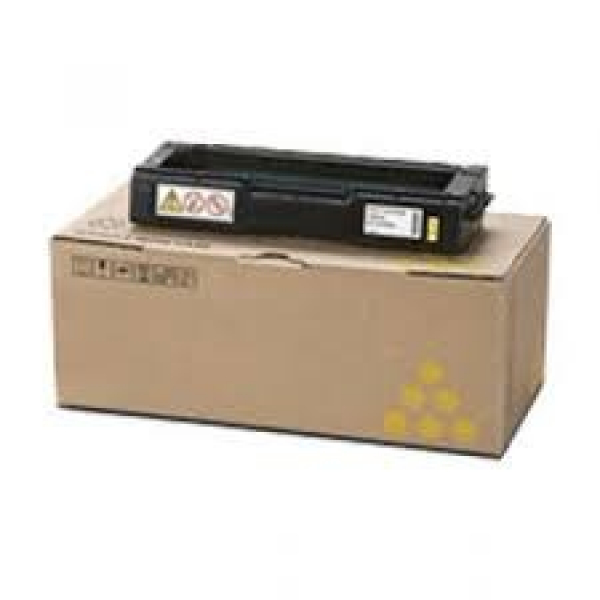 RICOH Yellow Toner 6000 Page Yield For Spc242 & 406486