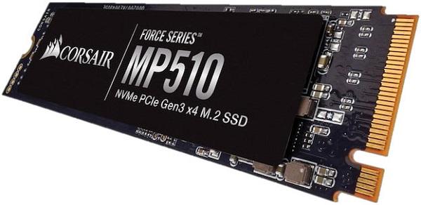 Corsair Force MP510 1920GB Nvme Pcie SSD M.22280 - 3D TCL Nand 3480/300 (CSSD-F1920GBMP510)