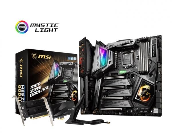 MSI Z390 Godlike E-Atx Motherboard -S1151 9Gen 4xDDR4 4xPci-e DP/Hdmi MEG (Z390 GODLIKE)