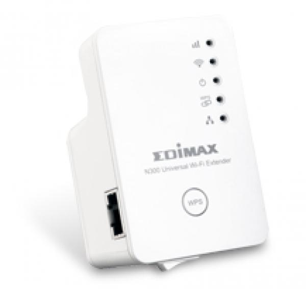 Edimax N300 Wifi Extender 1xlan/wall Plug/universal ls EW-7438RPN