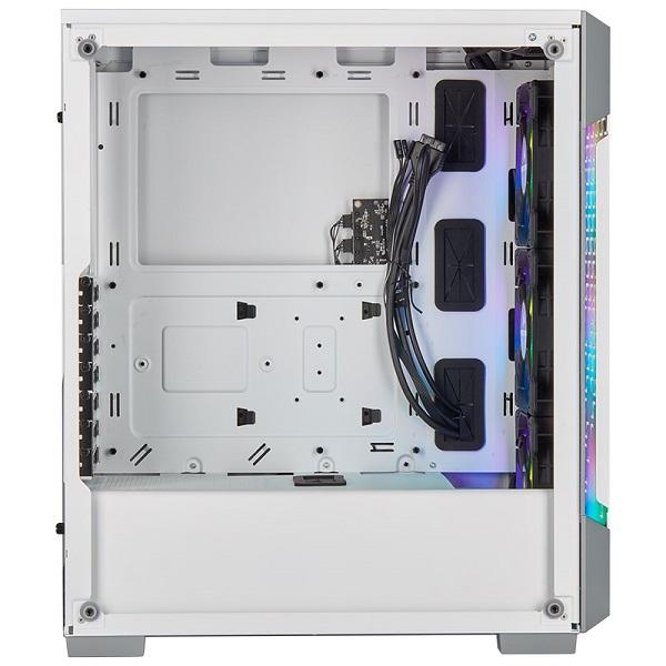 Corsair Icue 220t Rgb Airflow Smart Atx Matx Mini-itx Case - White. 2 Yea CC-9011174-WW