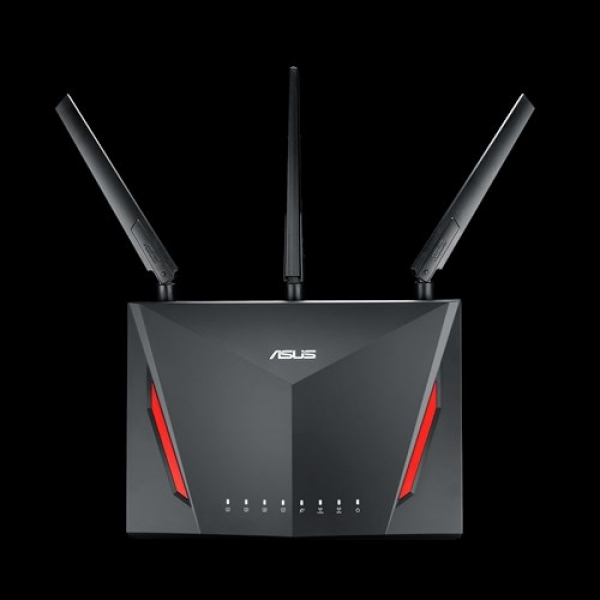 Asus AC2900 Dual Band Gigabit Wifi Gaming Router With Mu-Mimo Aimesh A (RT-AC86U)
