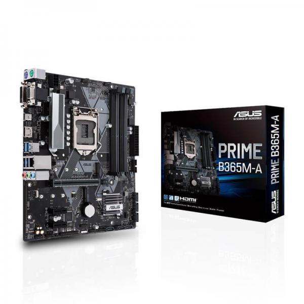 Asus Asus Intel Lga-1151 Matx Mb Aura Sync Rgb Header Ddr4 2666mhz M.2 PRIME B365M-A