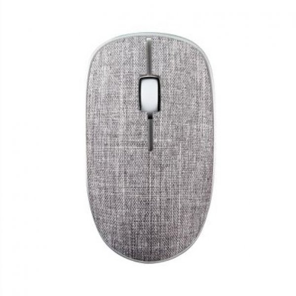 Rapoo 3510plus 2.4g Wireless Fabric Optical Mouse Grey (ls) (3510PLUS-GREY)