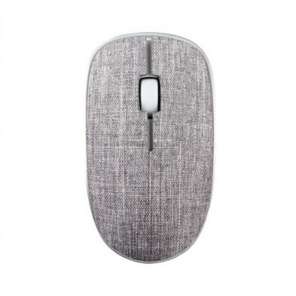 Rapoo 3510plus 2.4g Wireless Fabric Optical Mouse Grey (ls) (3510PLUS-GREY)