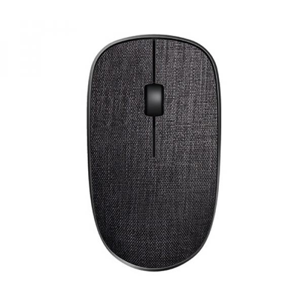 Rapoo 3510plus 2.4g Wireless Fabric Optical Mouse Black (ls) (3510PLUS-BLACK)