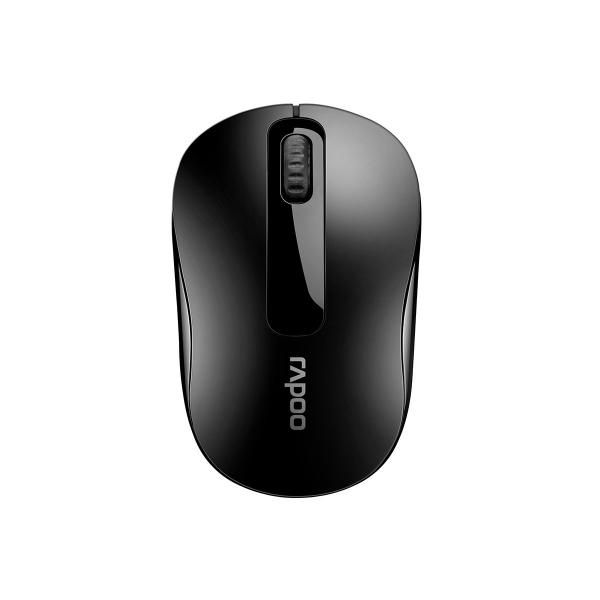 Rapoo M10 Plus 2.4ghz Wireless Optical Mouse Black - 1000dpi 3keys (M10Plus-Black)