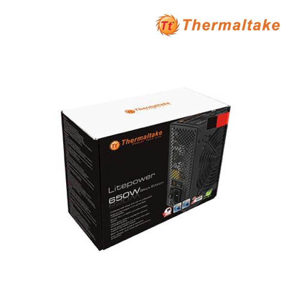 Thermaltake 650w litepower Gen2 Power Supply PS LTP 0650NPCNAU 2