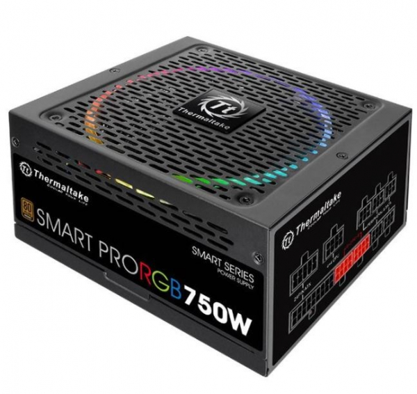 Thermaltake 750w smart pro rgb bronze Power Supply PS SPR 0750FPCBAU R