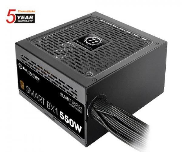 Thermaltake 550w smart bx1 80 plus bronze Power Supply PS SPD 0550NNSABA 1
