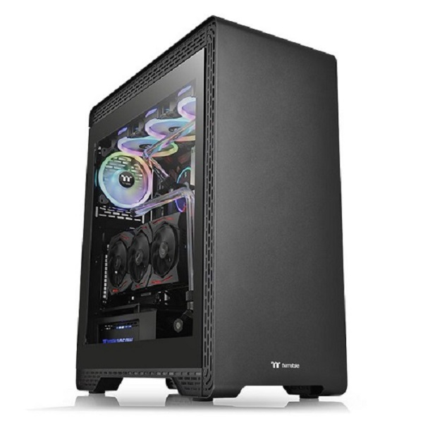 Thermaltake Cas S500-tempered-glass-mid-tower (CA-1O3-00M1WN-00)
