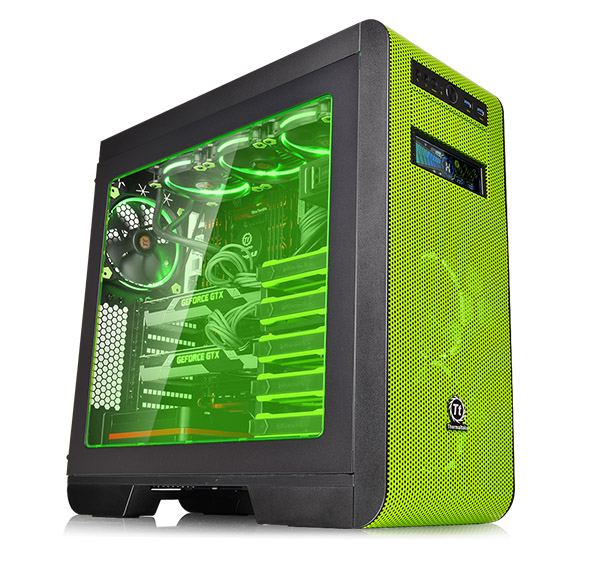 Thermaltake Cas V51-core-green (CASE-CORE-V51-RG-GN)