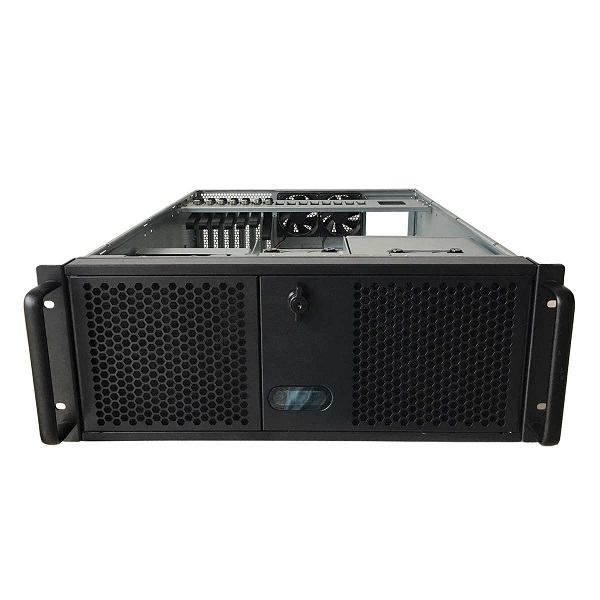 Tgc Rack Mountable Server Chassis 4u With 3 5.25' Slot 4 Hdd Bays 1 O (TGC-4550HG-7)