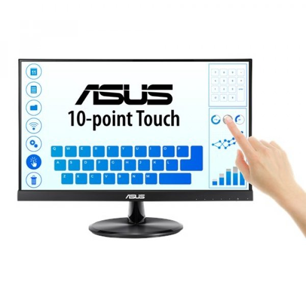 Asus Touch Monitor - 21.5 Fhd (1920x1080) 10-point Touch Ips 178 View (VT229H)