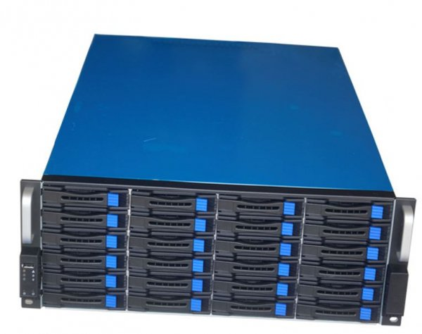 Tgc Rack Mountable Server Chassis 4u 24-bays Hotswap 590mm Depth (ls) (TGC-4824S)