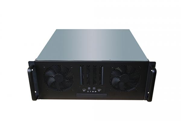Tgc Rack Mountable Server Chassis 4u 450mm Depth With Atx Psu Window  (TGC-4450SG)
