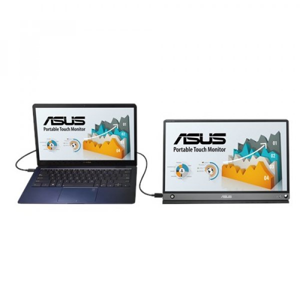 Asus Zenscreen Touch Usb Portable Monitor  15.6-inch Ips Full Hd 10-po (MB16AMT)